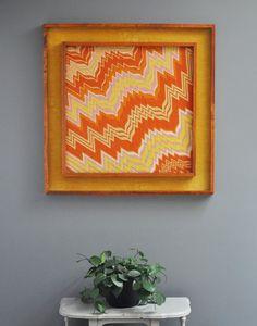 Mod Needlepoint Embroidery