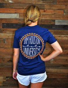 Hey Sam Houston! Show your love and support for your Bearkat in this new SHSU t-shirt! Eat'em up, Kats!