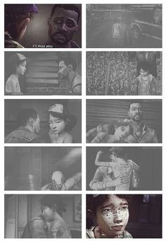 The Walking Dead (Telltale Game) season 1 finale - Clem and Lee's death / Clementine and Lee Everett