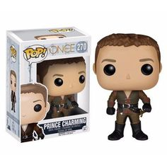 Funko Pop! Once Upon a Time Prince Charming Vinyl Figure, Multicolor