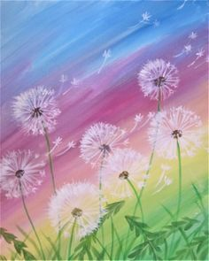 Join us for a Paint Nite event Wed Apr 2018 at 9360 Baltimore St NE Bla. - Join us for a Paint Nite event Wed Apr 2018 at 9360 Baltimore St NE Blaine, MN. Purchase y - Dandelion Painting, Acrylic Painting Flowers, Canvas Painting Landscape, Simple Acrylic Paintings, Oil Painting Abstract, Abstract Canvas, Diy Painting, Easy Canvas Painting, Easy Paintings