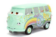 Jada Toys Fillmore Volkswagen Bus Disney Pixar Cars