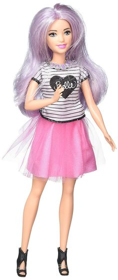 e737a44997505 Each Barbie Fashionistas doll has her own look and style -- from casually  cool to boho bold all of the fashions are inspired by the latest trends!