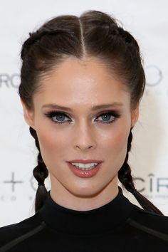 Coco Rocha arrives at CO+CO Collection Launch