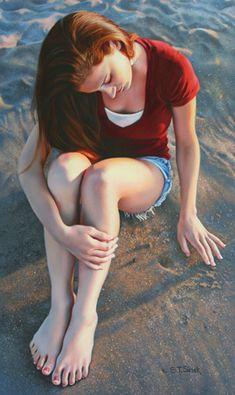 Tom Sierak Pastel Paintings