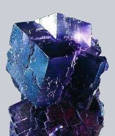 Fluorite Crystal ~~~~~ My Comments: I love the colors and angles of this crystal.