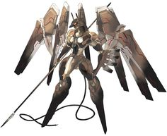Anubis Art   Anubis - Characters & Art - Zone of the Enders: The 2nd Runner