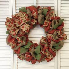 Large Pumpkin Fall Wreath, Burlap Wreath, Fall Burlap Wreath, Pumpkin Wreath, Autumn Wreath - pinned by pin4etsy.com