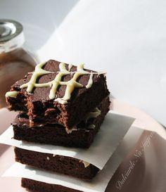 Negrese cu Ciocolata Alba (fara zahar, fara unt, 100% sanatoase)