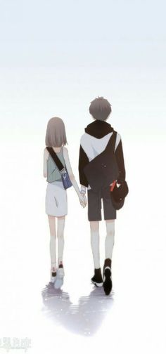 19 Trendy ideas for anime art love couples Anime Couples Drawings, Anime Couples Manga, Cute Anime Couples, Anime Cupples, Fanarts Anime, Manga Couple, Anime Love Couple, Romantic Artwork, Cute Couple Wallpaper