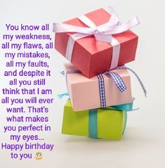 Birthday Wish For Husband, Husband And Wife Love, Happy Birthday My Love, It's Your Birthday, Special Birthday, Birthday Wishes, You Are Special, Words To Describe, Marry You
