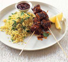 Miso-glazed tuna kebabs   Food/Recipes   Pinterest   Kebabs, Grilling ...