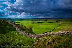 Hadrian's Wall (Northumberland, England) . . . construction began in 122 A.D.