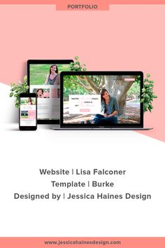 Lisa Falconer website custom designed by Jessica Haines Design. If you are ready to take your business to the next level with a website that looks good and makes you money, click through to see what you new website could look like! | www.jessicahainesdesign.com Website Images, Banner Images, Creating A Business, Graphic Design Projects, Design Process, Portfolio Design, Breakup, How To Find Out, Branding Design