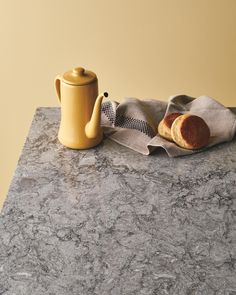 Introducing the 'next generation granite' with all the benefits of @caesarstoneau quartz surfaces | Turbine Grey #clickthelinkinbio #turbinegrey #new2017designs #caesarstone #caesarstoneau