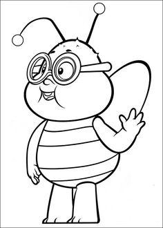 Maya Bee Tegninger til Farvelægning 34