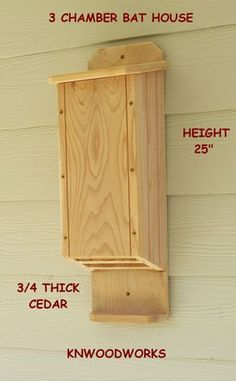 Bird House Plans 785948572453018363 - 3 chamber bat house Source by Build A Bat House, Bat House Plans, Bird House Kits, Backyard Projects, Wood Projects, Woodworking Projects, Woodworking Plans, Bat Box Plans, Boat Plans