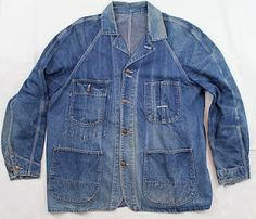 vintage workwear: 1950's Era Penney's PAY-DAY Union Made Chore Jacket