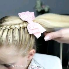 Homecoming Hairstyles Half Up Half Down is part of Prettiest Half Up Half Down Prom Hairstyles For - Amazing hairstyle guide! Girl Hair Dos, Kid Hair, French Braid Hairstyles, Hairdos, Baby Girl Hairstyles, Toddler Hairstyles, Homecoming Hairstyles, Wedding Hairstyles, Hair Designs