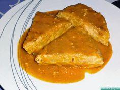 Tortilla guisada. No te pierdas detalle de esta receta que nos cuentan cómo preparar desde el blog Los Delantales de Julio y Carmen.