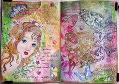Art journal Fantasy