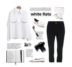"""Black and white"" by yexyka ❤ liked on Polyvore featuring Chanel, women's clothing, women's fashion, women, female, woman, misses and juniors"