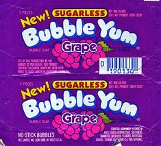 Grape Bubble Yum gum wrapper | Dan Goodsell | Flickr Bedroom Wall Collage, Photo Wall Collage, Picture Wall, Room Posters, Poster Wall, Poster Prints, Retro Poster, Vintage Posters, Bubble Yum