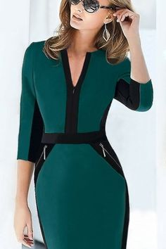 Swans Style is the top online fashion store for women. Shop sexy club dresses, jeans, shoes, bodysuits, skirts and more. Best Prom Dresses, Sexy Dresses, Short Dresses, Office Dresses, Dresses For Work, Pretty Outfits, Beautiful Outfits, Vestidos Chiffon, Work Fashion