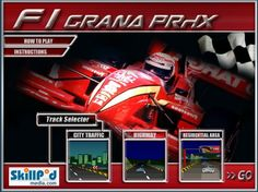 Race through the Streets in your red sports car in Street Grand Prix.