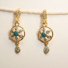 light waight  gold plated  earring
