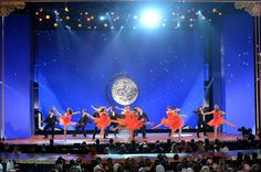 Actors perform onstage at The 67th Annual Tony Awards at Radio City Music Hall on June 9, 2013 in New York City.