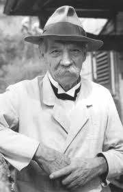 Albert-Schweitzer -  Gründet 1913 mit  seiner Helene ein Hospital in Lambarene
