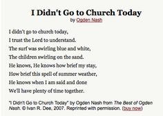 Ogden Nash  sc 1 st  Pinterest & Best and Verse of Ogden Nash | Famous quotes Poem and Word play 25forcollege.com