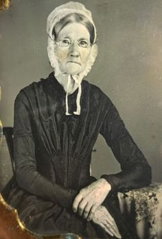EXTREMELY-SHARP-1-6-Sixth-Plate-Daguerreotype-Of-Elderly-Toothless-Woman-C-1847