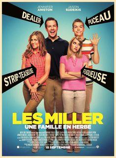 Les Miller, une famille en herbe est un film de Rawson Marshall Thurber avec Jennifer Aniston, Jason Sudeikis. Synopsis : David Burke est un dealer à la petite semaine qui se contente de vendre sa marchandise à des chefs cuisiniers et des m