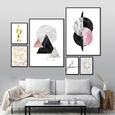 Explore the Nordic Abstract Wall Art Collection and discover the relationship between hard elements, abstract forms, shape, line and color . Grey And Gold, Pink Black, Pineapple Art, Inspirational Wall Art, Inspirational Quotations, Bedroom Posters, Watercolor Walls, Decorating With Pictures, Canvas Prints