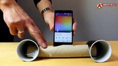 awesome Hjemmebygget højttaler til smartphone