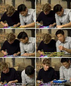 Thomas and Ki Hong https://www.youtube.com/watch?v=WUTzHpGU1kY&feature=iv&src_vid=ic4R4DcKlrI&annotation_id=annotation_2346591969