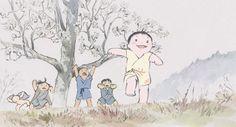 #EscenariosGhibli 'El cuento de la Princesa Kaguya' (Isao Takahata, 2013).