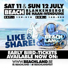 SHARE & WIN Tickets of Beachland 2015