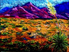 """""""El Paso"""" ~ Pastel Painting by Melinda Etzold Great Paintings, Pastel Paintings, Oil Paintings, Living On The Edge, Texas, Art Techniques, Love Art, Impressionist, Painting & Drawing"""