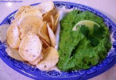 Watching your fat intake? You may like this Skinny Guacamole. (I'm not watching fat intake, but I do LOVE using my garden fresh green peas in this unique way sometimes!)