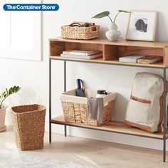 Shop our selection of beautiful and sustainable storage solutions here!