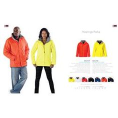 Branded US Basic Hastings Parka - Men's Corporate Outfits, Corporate Gifts, Promotional Clothing, S Models, Winter Season, Parka, Winter Jackets, Logo, Clothes