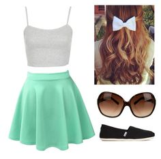 """Untitled #138"" by sarahthornhill on Polyvore Skater Skirt, Shoe Bag, Skirts, Polyvore, Stuff To Buy, Shopping, Clothes, Collection, Design"