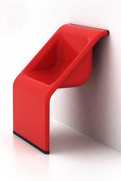 Wall Chair (2008) by Chao Huang (b. Singapore).