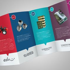 Beautiful Deca Fold Brochure design 4 20+ Simple Yet Beautiful Brochure Design Inspiration & Templates