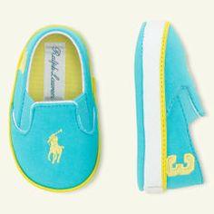 Serena Slip-On Sneaker - Ralph Lauren Baby b232e36bab71