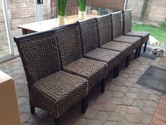 6 Dinning Room Chairs With Interior Design Covers For Sale Excellent Condition