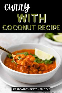 This coconut curry wth chickpeas is a people pleaser. It's simple, vegan, and gluten-free. Garbanzo Bean Recipes, Vegan Chickpea Recipes, Chickpea Coconut Curry, Chickpea Stew, Coconut Recipes, Vegan Dinner Recipes, Brunch Recipes, Gluten Free Recipes, Healthy Hummus